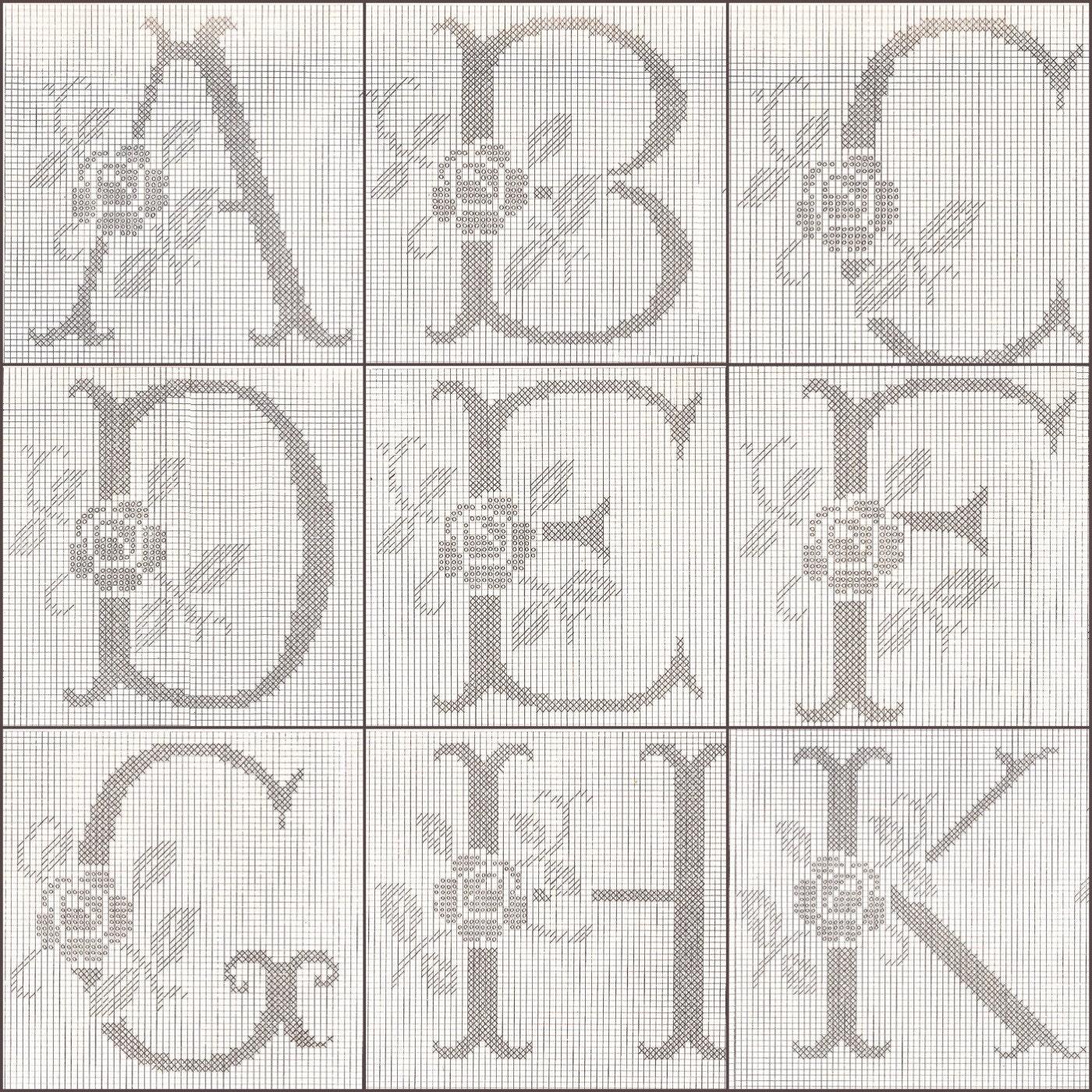 Colorful Alphabet Crochet Pattern Embellishment - Easy Scarf ...