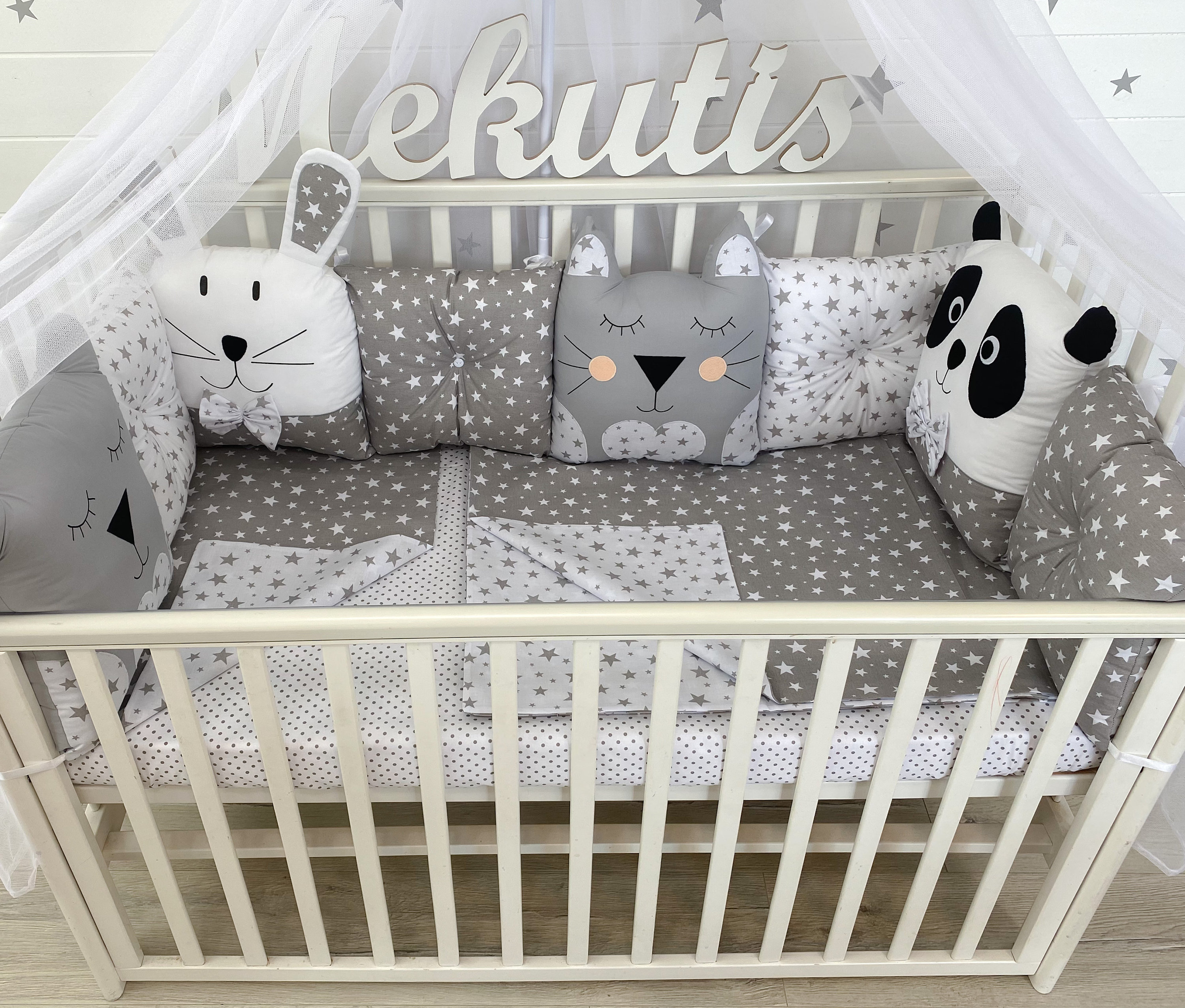 Cot Bumper Baby Bedding Set Baby Gifts Crib Bumper Baby Crib Nursery Set Nursery Cot Sets Cot Bedding Set Girl Baby BlanketMD curtain