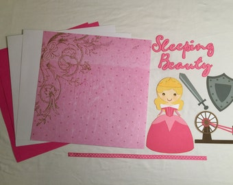Sleeping Beauty Scrapbook Kit