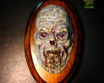 Fat Zombie   relief painted