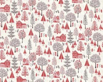 Christmas Fabric For 2020 Scandi christmas | Etsy