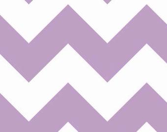 Riley Blake Fabric - Large Chevron - Lavender