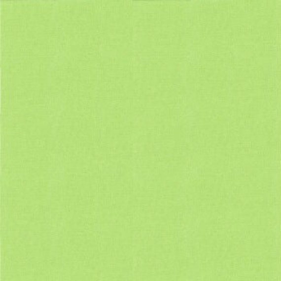 Sold in Half Yard Increments Moda Bella Solid in Green 9900 65 Cut Continuously