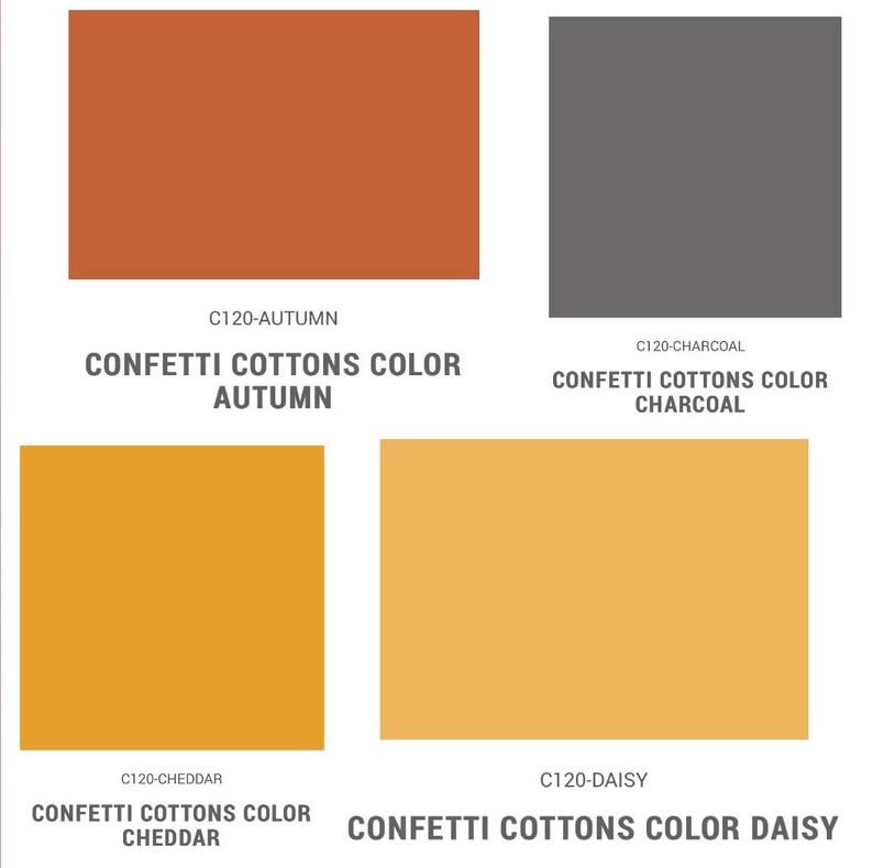 Quilt Fabric Precut Quilt Fabric BlenderTonal Confetti Cottons Fabric ~ FQ Bundle 12 Piece Fat Quarter Bundle by Riley Blake Designs