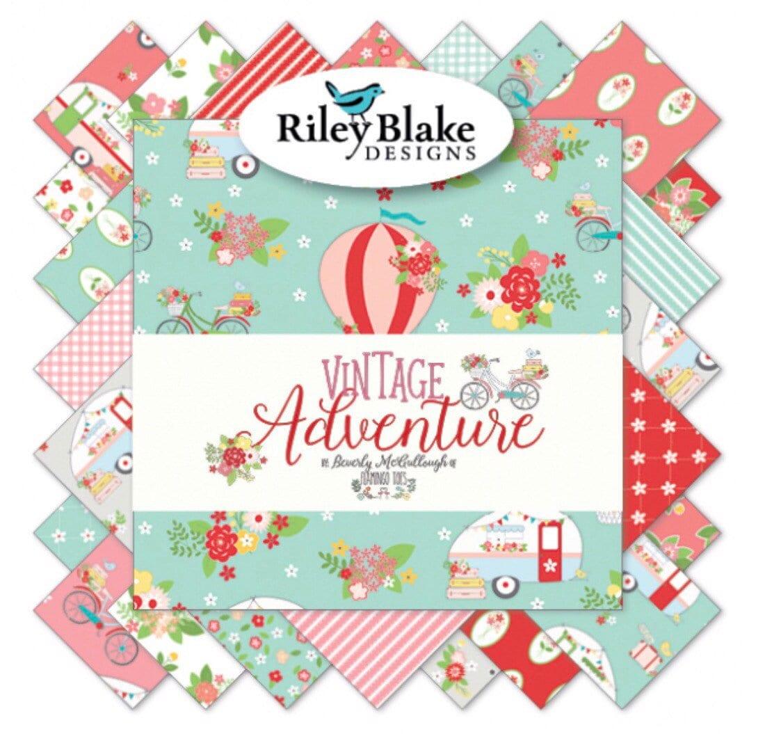 Vintage aventure 5 «pouces - empileur - 42 pièces - «pouces Riley Blake Designs 569d3a
