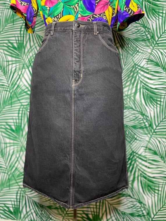 Size S/M Gloria Vanderbilt denim skirt
