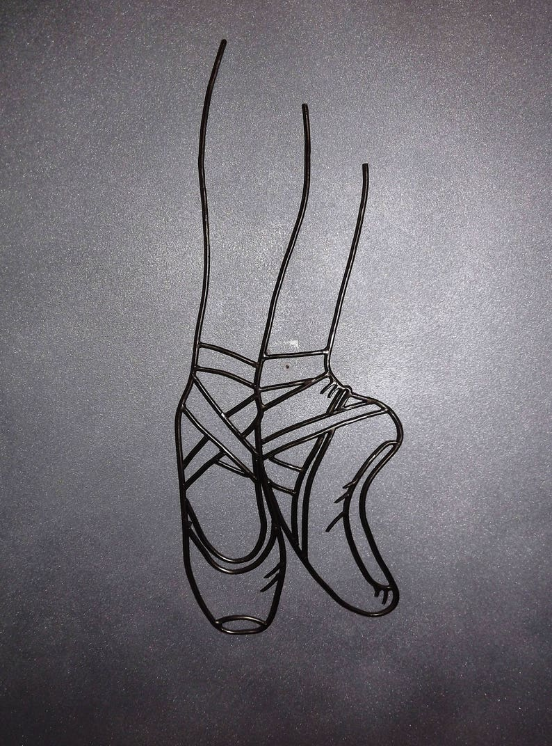 720782ab545 Ballerina shoes Art ballet Shoes classic dance wall art