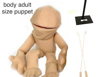 Blank full body puppet