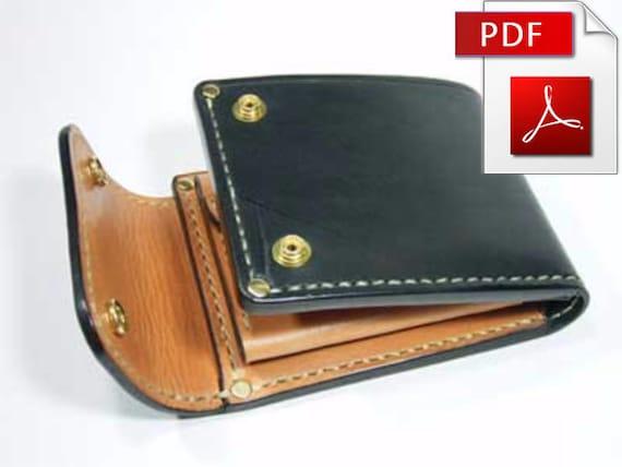 Brieftasche Muster Leder Muster Leder Muster wallet Geldbeutel | Etsy