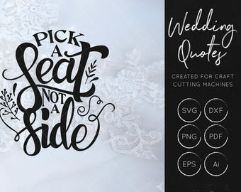 Wedding Quote SVG