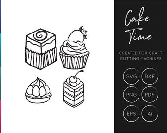 Cake SVG cut file