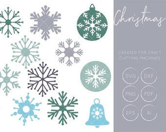 Snowflakes SVG, Snowflake Cut Files