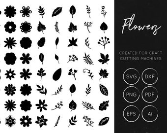 Vector Flowers SVG Bundle