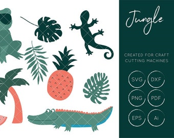 Jungle SVG Cut File