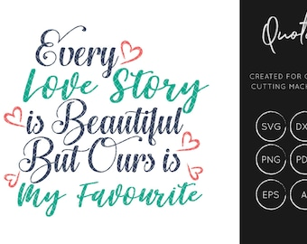 Love SVG Cut File, Love SVG, Quote svg, silhouette cameo, cricut explore, instant download, svg cut files, dxf cut files, commercial use