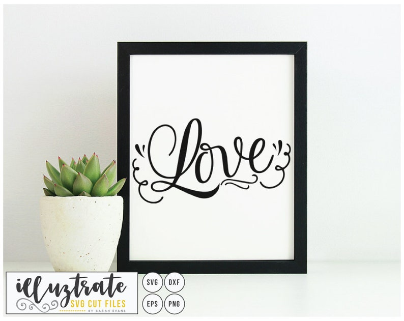 Love SVG Love Quote Wedding SVG Wedding Cut Files Wedding image 0