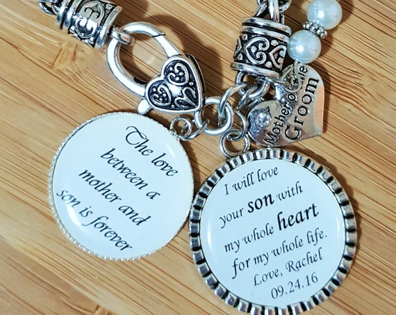 Mother of the Groom Gift Mother of the Groom Bracelet Mother in Law Bracelet Mother in Law Gift Wedding Gifts for Mother in Law