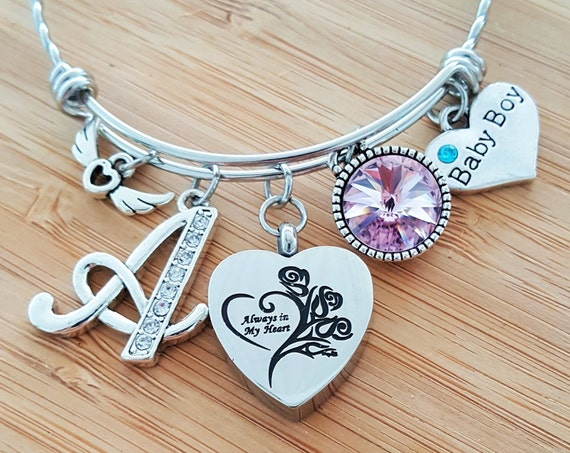 Urn Bracelet Miscarriage Stillbirth Gift Stillborn Bracelet Stillborn Gift Sympathy Gift In Memory of Baby Loss of a Child Loss of Baby