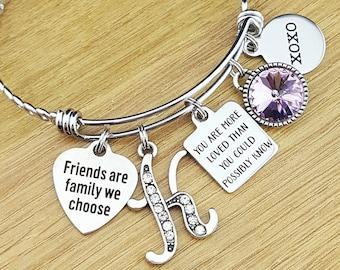 Best Friend Gift Friendship Bracelet Jewelry Gifts Birthday Bridesmaid