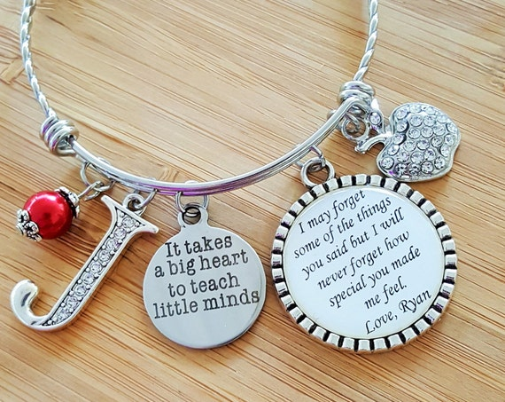 Teacher Appreciation Gift Teacher Gifts Teacher Bracelet Daycare Provider Gift Daycare Gift Babysitter Gift Gift for Babysitter Nanny Gift