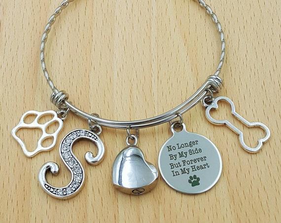 Pet Urn Jewelry Pet Memorial Bracelet Loss of Dog Bracelet Loss of Pet Bracelet Loss of Cat Loss of Pet Gift Loss of Family Pet Gift Pet