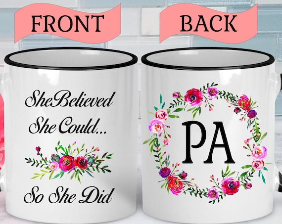 PA Mug PA Gifts PA Coffee Mug Physician Assistant Mug Physician Assistant Gifts Physician Assistant Graduation Gift Student Gift