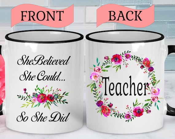 Teacher Mug Teacher Mug Gift Teacher Graduation Gift New Teacher Mug New Teacher Gift Teacher Coffee Mug Teacher Coffee Cup Graduation Mug