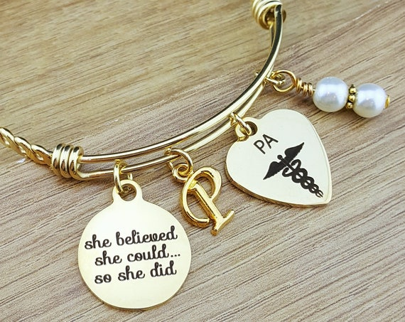 Gold Physician Assistant Gifts Physician Assistant Graduation Gift Physician Assistant Student College Graduation College Graduation Gift