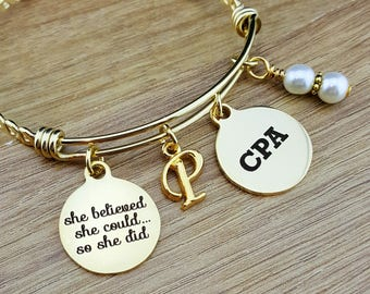 Gold CPA Gifts Graduation Gift for CPA Accountant Gift Gifts for Accountants Graduation Gift Senior Gifts Senior 2018 College Graduation