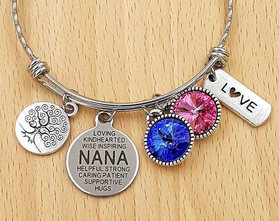 Grandma Bracelet Gifts for Grandma Grandma Gift Grandma Jewelry Gift from Grandkids Nana Bracelet Nana Gift Gifts for Nana