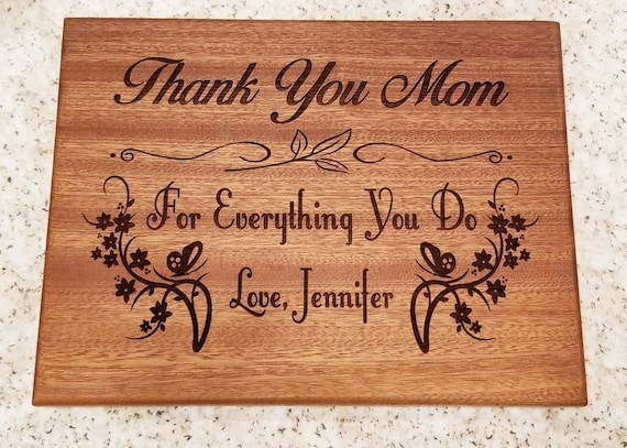 Cutting Board for Mom Cutting Board for Mother Mom Cutting Board Gift for Mom Mothers Day Gift for Mom Birthday Gift for Mom Mom Gift