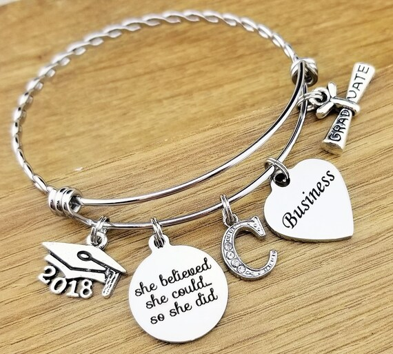 Business Graduation Gift Business Gifts Business Gifts for Women Business Bracelet Graduation Gift for Her College Graduation Gift 2018