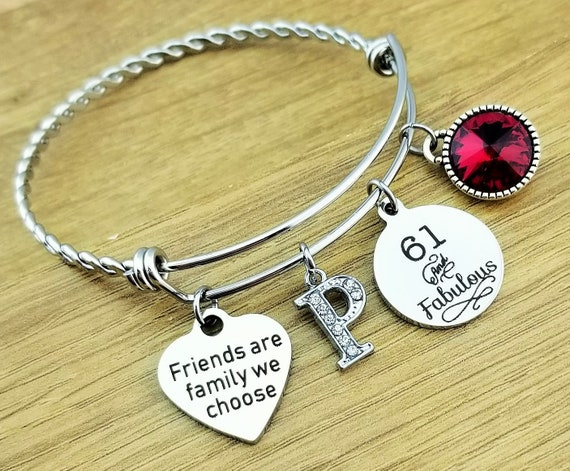 61st Birthday Gift Birthday Gifts for Her Birthday Gift for Friend Birthday Gifts for Bestfriend Birthday Gifts for Best Friend Friend Gift