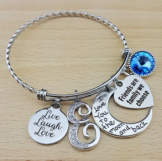 Best Friend Gift Friendship Bracelet Friendship Gift Friendship Jewelry Friend Bracelet Friend Gifts Friend Birthday Gift Bridesmaid Gift