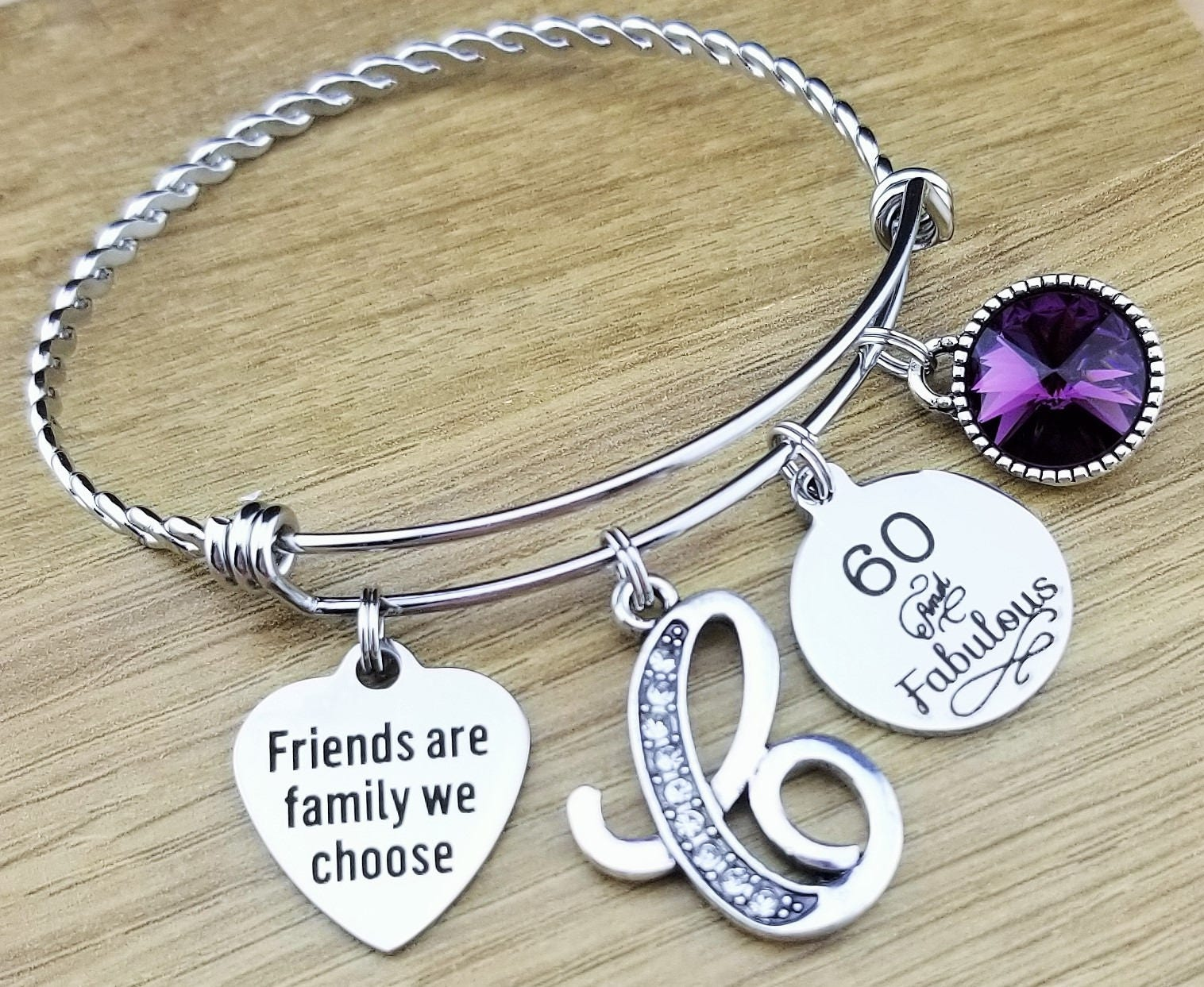 60 Birthday Gifts 60th Gift For Her Friend Bestfriend Fabulous
