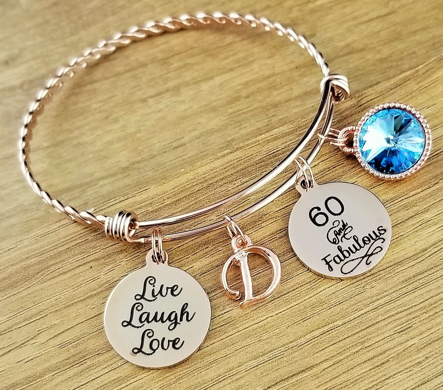 Rose Gold 60 Birthday Gifts 60th Gift For Her Friend And Fabulous