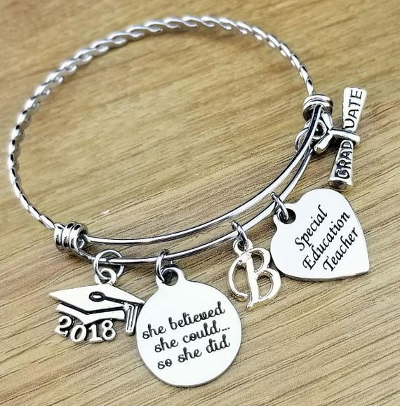 Special Education Teacher Gifts Special Ed Teacher Gifts Teacher Graduation Gift College Graduation Gift for Her Senior 2018 Senior Gifts