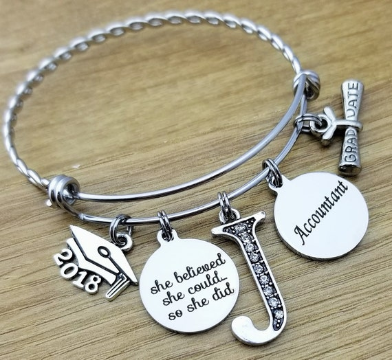 Accounting Graduation Gift Accountant Gift Accounting Jewelry Accounting Gifts College Graduation Gift Graduation Gift for Her Senior 2018