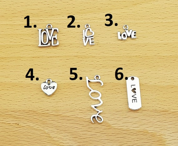 Add a LOVE Charm to Any KainsBoutique Order