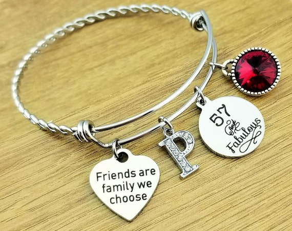 57th Birthday Gift Birthday Gifts for Her Birthday Gift for Friend Birthday Gifts for Bestfriend Birthday Gifts for Best Friend Friend Gift