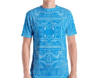 5772a6267 Circuit board Men's T-shirt
