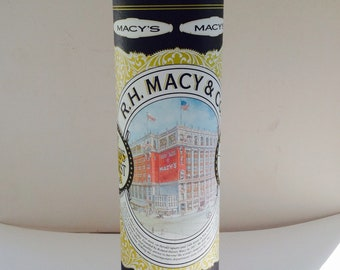 Macy's store cookie tin