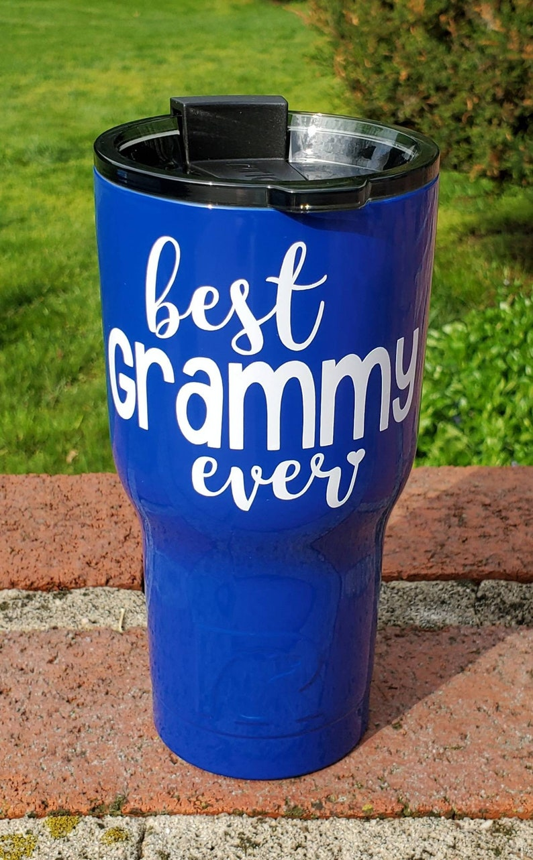 Best Grammy Ever tumbler  Grammy gift  Grandmother gift  RTIC Tumbler 20 oz 30 oz