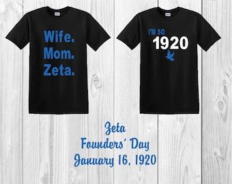 Zeta Shirts