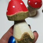 Woodland toadstool fairy hanging Christmas tree decoration