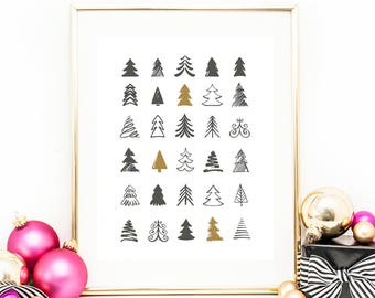 Christmas Images To Print.Christmas Print Etsy