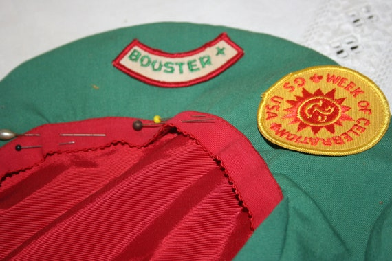 Girl Scout Patches and Hat, Lot of 3, Vintage Girl