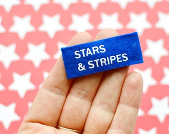 American hair clips for girls fourth of July snap clip for infant stars and stripes hair clip for toddler usa hair clip infant snap clips