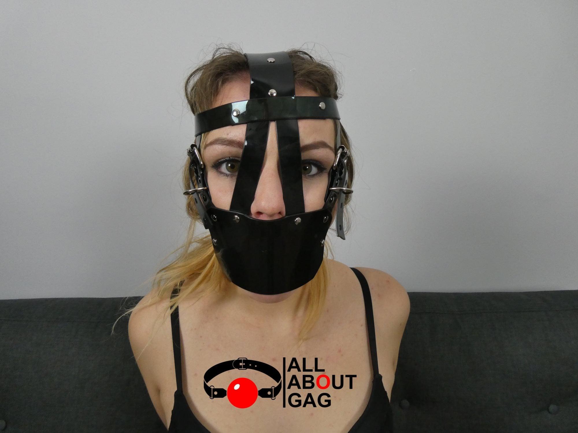 Ball gag girl