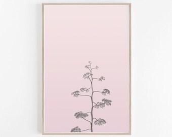 Desert Print, Pink Wall Art, Pastel Wall Art, Pastel Decor, Blush Pink, Desert Wall Art, Desert Photography, Desert Art Print, Printable Art